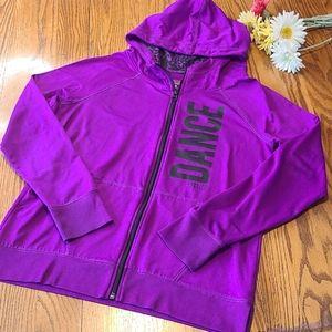 Justice Dance hoodie  - purple